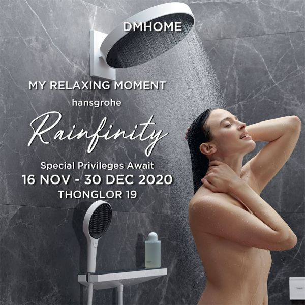 hansgrohe Rainfinity My Relaxing Moment