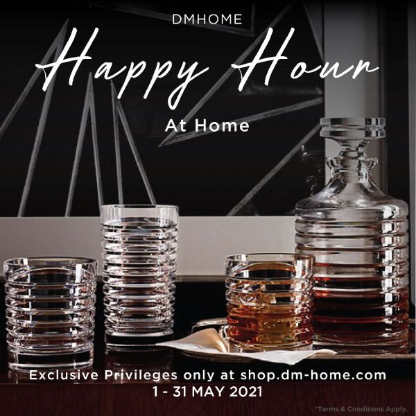 Happy Hour at Home with Ralph Lauren Home