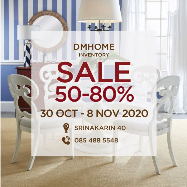 DMHOME INVENTORY Sale 30 OCT - 8 NOV 2020