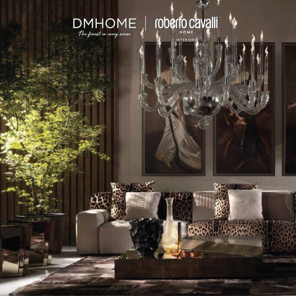 Interiors design ideas with Roberto Cavalli Home Interiors