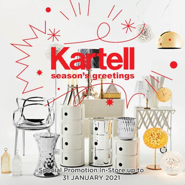 Holiday Gift by Kartell from DMHOME